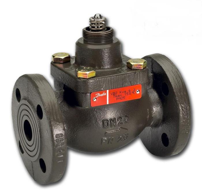 Регулирующие седельные клапаны Danfoss ( Данфосс )